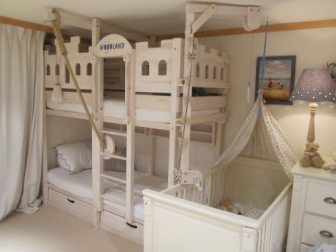 Childrens Playhouse Bed Plans