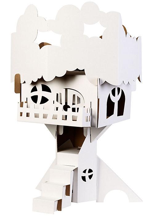 Papercraft White Cabana