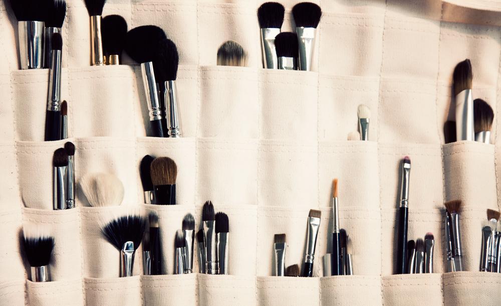 Photography Makeup BrushesWhite Cabana