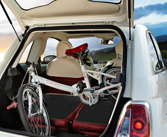 The Fiat 500 & Fiat bicycle