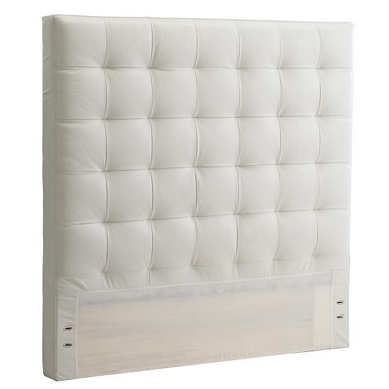 west elm headboards white cabana