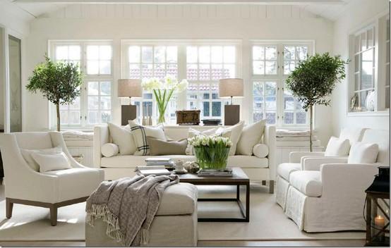 Interiors living roomswhite cabana white cabana for Living room furniture long island