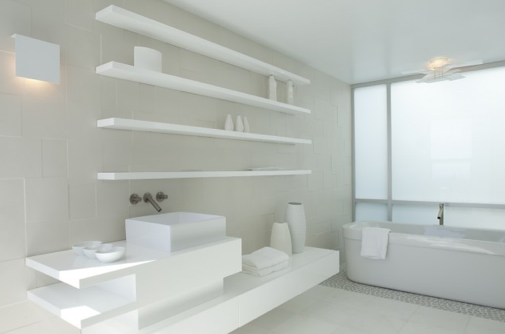 Bathrooms white cabana for Cabana bathroom ideas