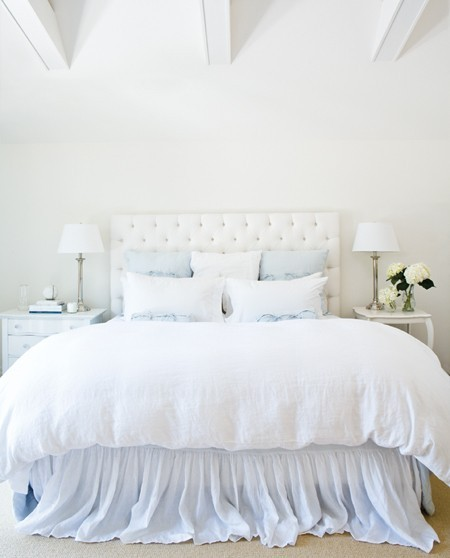 Big Bedroom: White Cabana