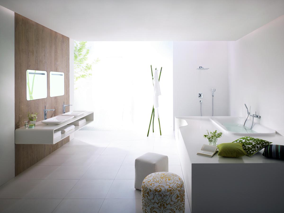 Interiors: Hansgrohe BathroomsWhite Cabana | White Cabana